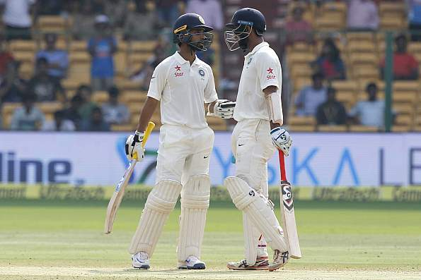 Rahane, Pujara showed why they are India's best Test batsmen:Kohli